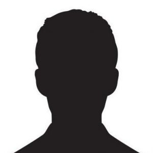 Male and female head silhouettes avatar, profile icons. Vector